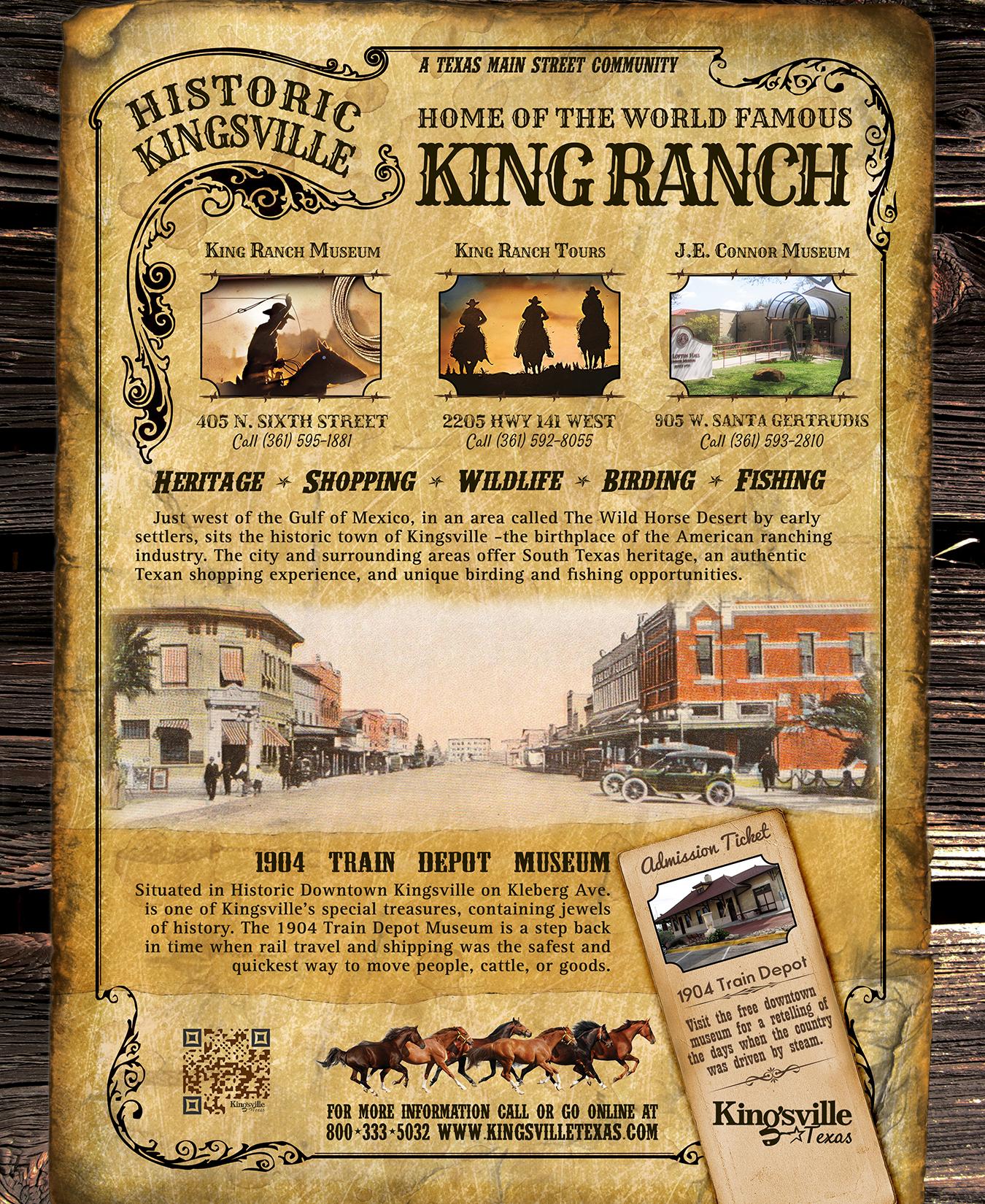 King Ranch Texas >> Kingsville, Texas Tourism